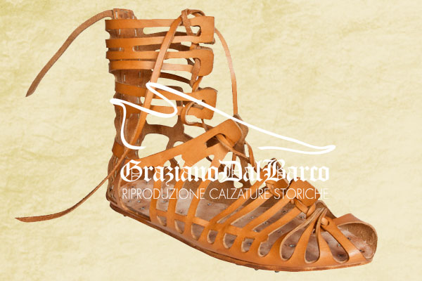 Caliga romana sandalo legionario impero romano